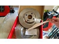 New Mazda mx5 mk2 mintex BIG brake discs