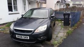 08 plate Ford Focus 1.6 tdci