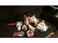 Yamasen porcelain 24kGold plated 50+ piece Collection