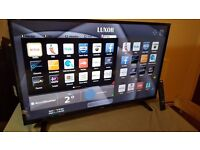 "LUXOR 43"" SUPER Smart LED FULL HD TV,built in Wifi,Freeview HD, NETFLIX,GREAT Condition"