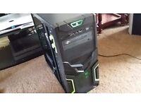 Gaming PC, Intel i5 2.8Ghz Quad Core 64BIT, 8GB RAM, 500GB HDD, Nvidia QUADRO FX 8400 1.5GB, Win 10!