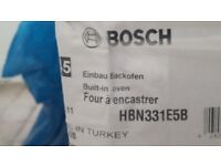 New unopened Bosch built in oven HBN331E5B