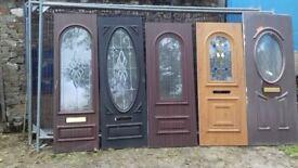 7 PVC DOOR PANELS VGC