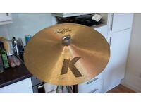 "Zildjian 15"" K Custom Dark Crash Cymbal"