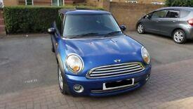 Mini One 1.4l 3 door 2008 plate