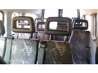 12 LDV van / Minibus seats