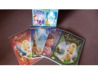 Tinkerbell 4 dvd collection