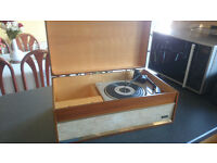 Vintage Spinney BSR Valve Amplified Record Player Full Working Order £100 OVNO