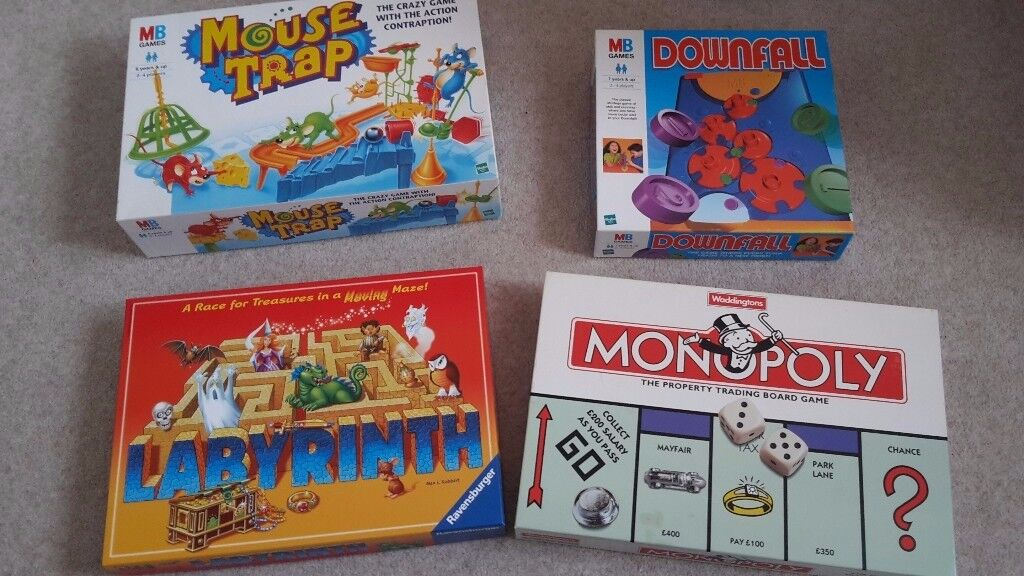 Board games in excellent condition and complete