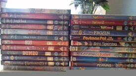 23 DVD'S - Disney & Dreamworks