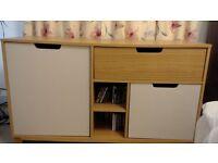 Media unit/living room storage drawers