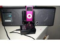 Pink ipod with sony docking station £45 o.n.o