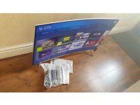 "BRAND NEW BOXED Samsung 43"" UE43KS7500 Curved SUHD HDR 1,000 4K Ultra HD Quantum Dot Smart LED TV"