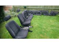 E39 cloth seats, door cards and centre console