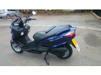 Suzuki Burgman UH125 2009, 59 reg, serviced and MOT
