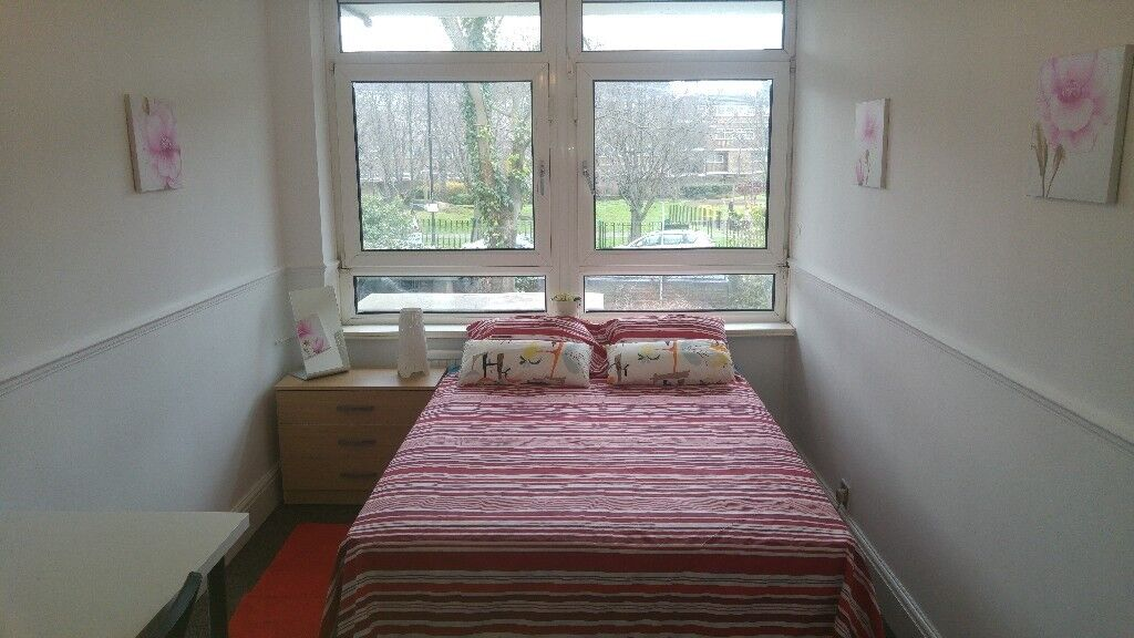 DOUBLE room in Canary Wharf, REAL PICS!