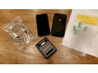 Apple iPhone 4 - 16Gb Black - Unlocked with battery pack, cover and screen protectors