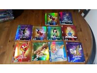 Disney O-Ring/Sleeves for DVD and Blu-Rays