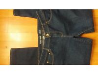 NEW Ladies Women's Dark Blue Skinny Jeans size 12