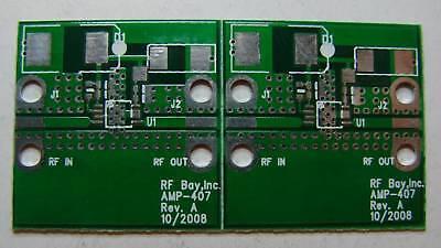 Pcb For Hittite Hmc407ms8g 5-7ghz Mmic Power Amp Qty.2