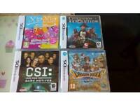 4 Nintendo ds games boxed and complete