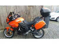 Triumph Tiger 2008 - Orange - Fully loaded with matching luggage and many extras