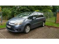 *HUGE SPEC* CITROEN C4 PICASSO 1.6 DIESEL + AUTO (PADDLE SHIFT) + 7SEATER + FRIDGE + LOW MILEAGE