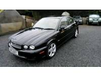08 Jaguar XTYPE 2.2 DIESEL Service History Leather interior 2Keys ( CAN BE VIEWED inside Anytime