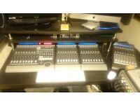 Mackie Control MCU, 3 Extenders, Tapco USB MIDI controller and MIDI leads