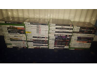 56 Xbox 360 Games (COD Black Ops 2, Destiny, Fable , Driver, Portal, WWE, Final Fantasy, Overlord)