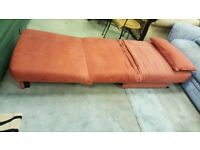 Fabric Armchair / single bed