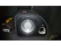 Subwoofer for sale ready to pick up or can deliver. Perfect working order.