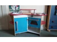 Kids Wooden Kitchen with Accessories