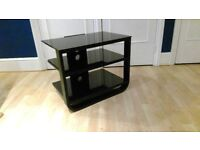 "John Lewis Black TV Stand (Up to 40"" TVs)"