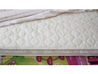 Child Bed frame with mattress