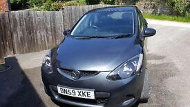 Mazda 2, 59 plate, 1.4 petrol,12 months MOT, £2450 ono.