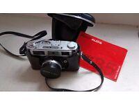Rank Aldis Camera Vintage 35mm Range finder camera with cds meter with case