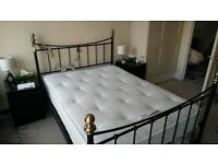 Perfecta Backcare Double Mattress with frame- excellent condition