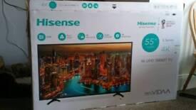 *BNIB* 55 inch 4k UHD Smart TV - Hisense