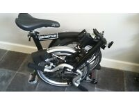Brand new Brompton fold up bike £1300 in the shop i will take £750 ono as never used