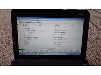 MSI Netbook With BMW diagnostic software