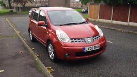 Nissan Note 1.4 Acenta R Petrol FSH..Reduced....