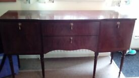 Wooden sideboard Buyer Collects