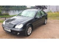 Mercedes C Clas/s C180 kompressor with 9 month mot and Low Mileage
