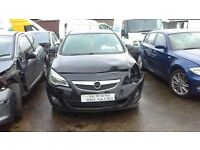 **FOR BREAKING** 2013 VAUXHALL ASTRA.