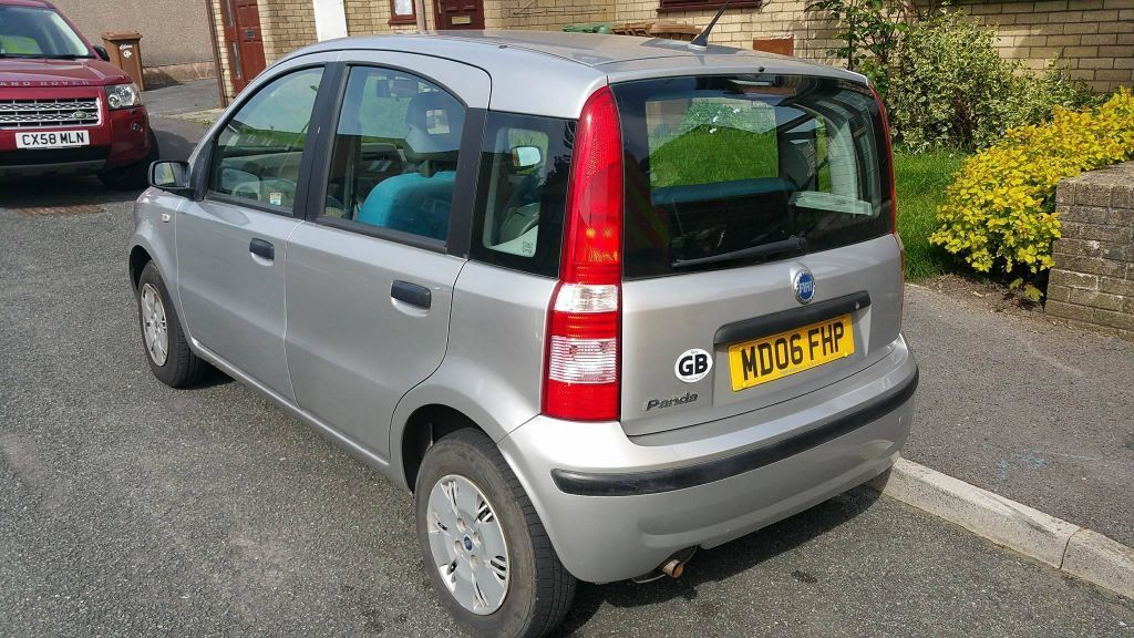 very reliable semi automatic 06 fiat panda for sale in maesteg bridgend gumtree. Black Bedroom Furniture Sets. Home Design Ideas