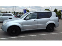 SsangYong Rexton SUV 4WD MK 1 - 2.7 TD RX 270 S 5dr 3.5 ton Towing capacity - Service History!