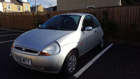 Ford Ka 1.3. Low Mileage 53k. Full Service History. Cheap to Run.
