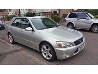 Lexus IS200 SE Auto 2003 Silver LOW MILEAGE 53k