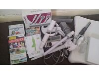 Nitendo wii set and games for sale